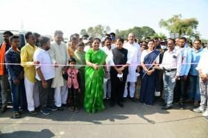 Bridge Inauguration ceremony on Daryapur road