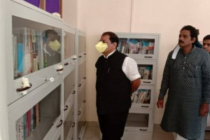 Library Inauguration on Journalist Day - Praveen Pote Sir